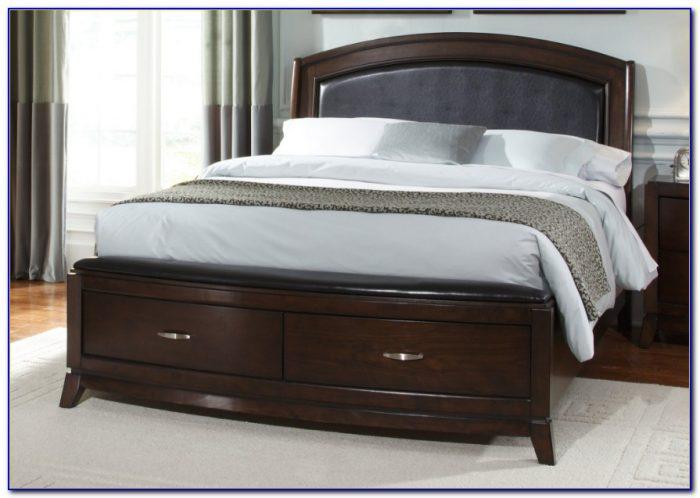 King Size Platform Bed Frame With Storage Plans