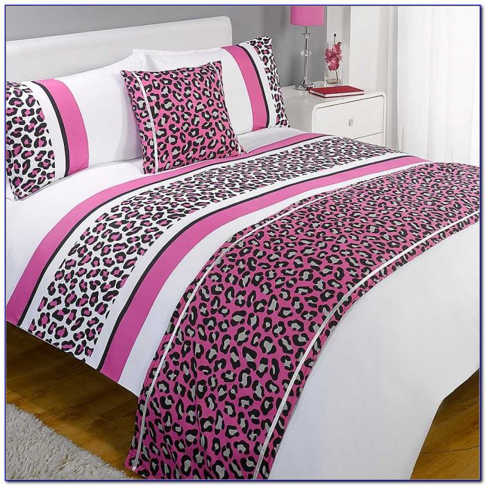 Leopard Print Bedding And Curtains