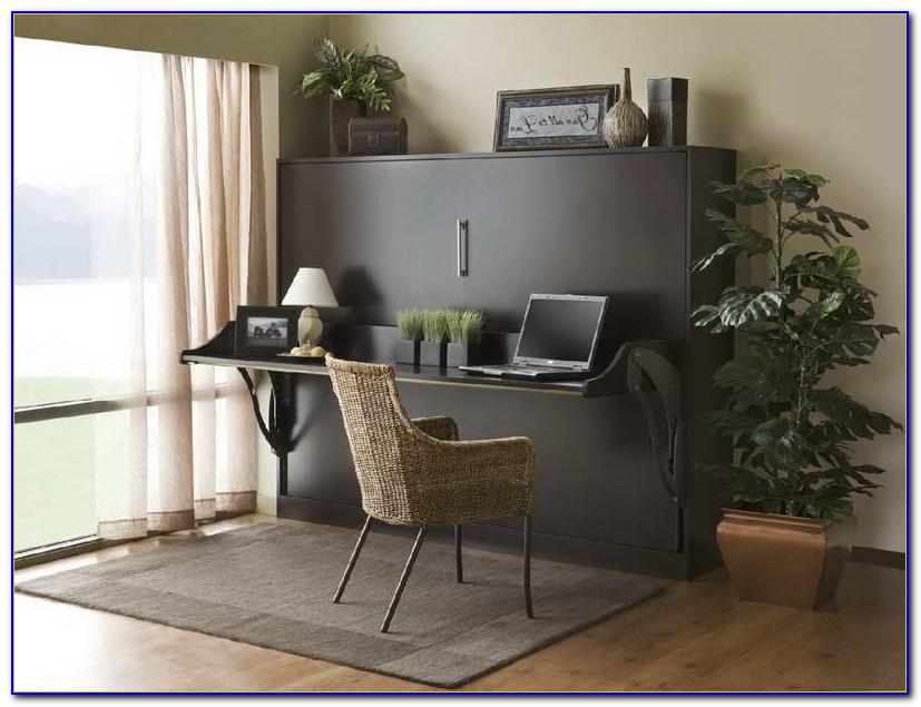 Murphy Bed With Desk Diy