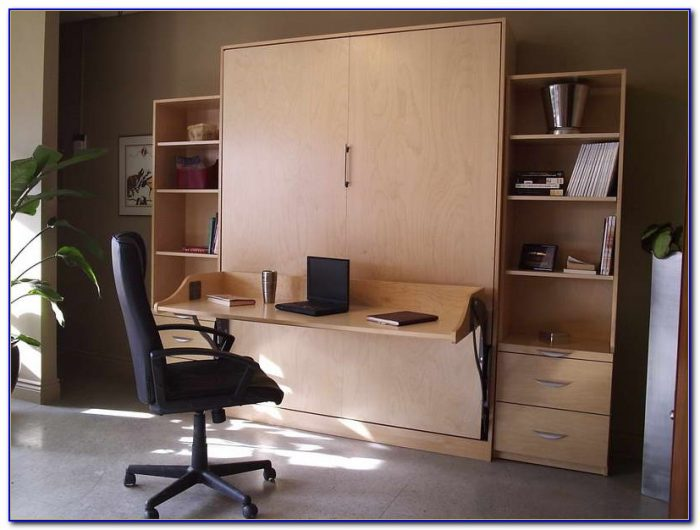 Murphy Bed With Desk Underneath