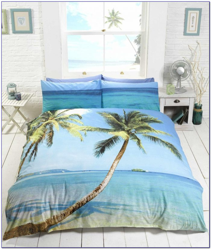 Palm Tree Bedding Full Size