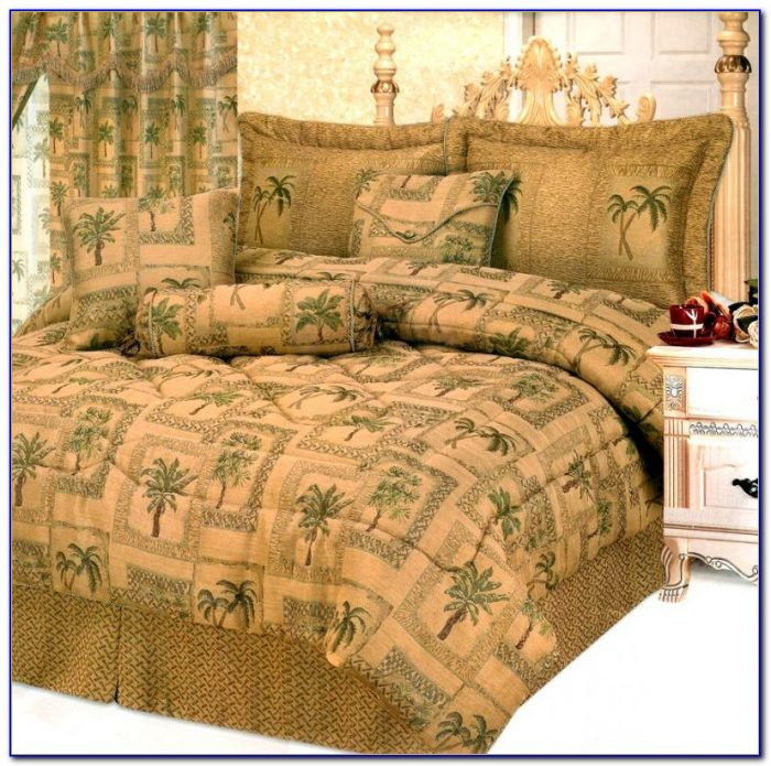 Palm Tree Bedding King Size