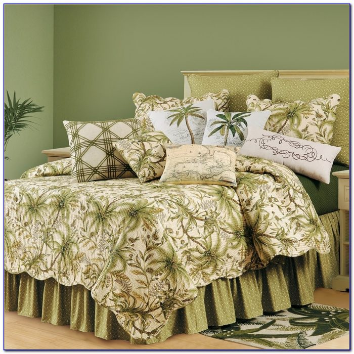 Palm Tree Bedding Queen