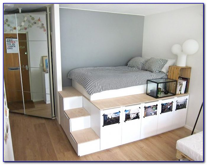 Platform Bed Ikea Malm