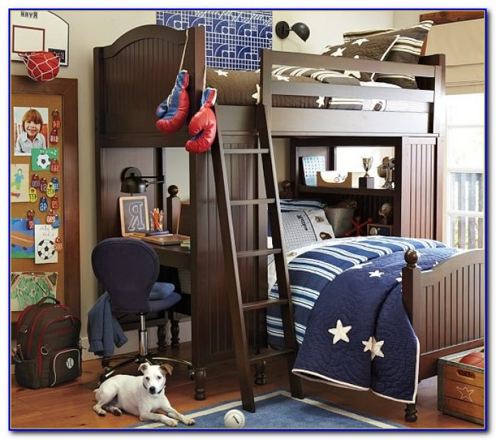 Pottery Barn Loft Bed With Desk Instructions