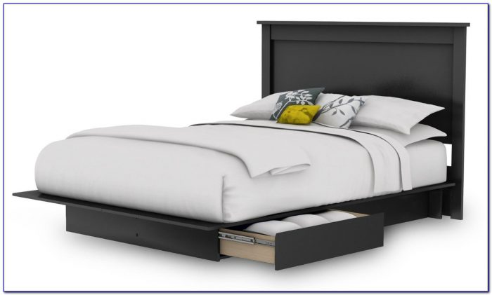 Queen Bed Frame With Drawers Underneath Canada
