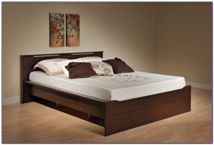 Queen Bed Frame With Headboard Brackets