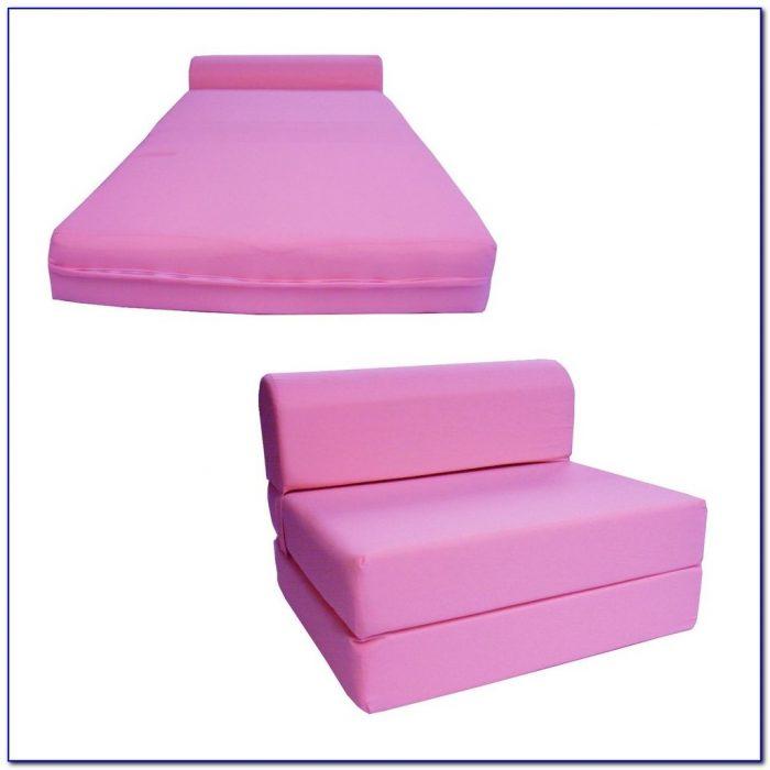 Sleeper Chair Folding Foam Bed Canada