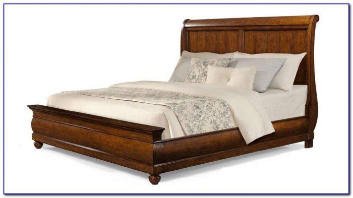 Sleigh Bed King Frame