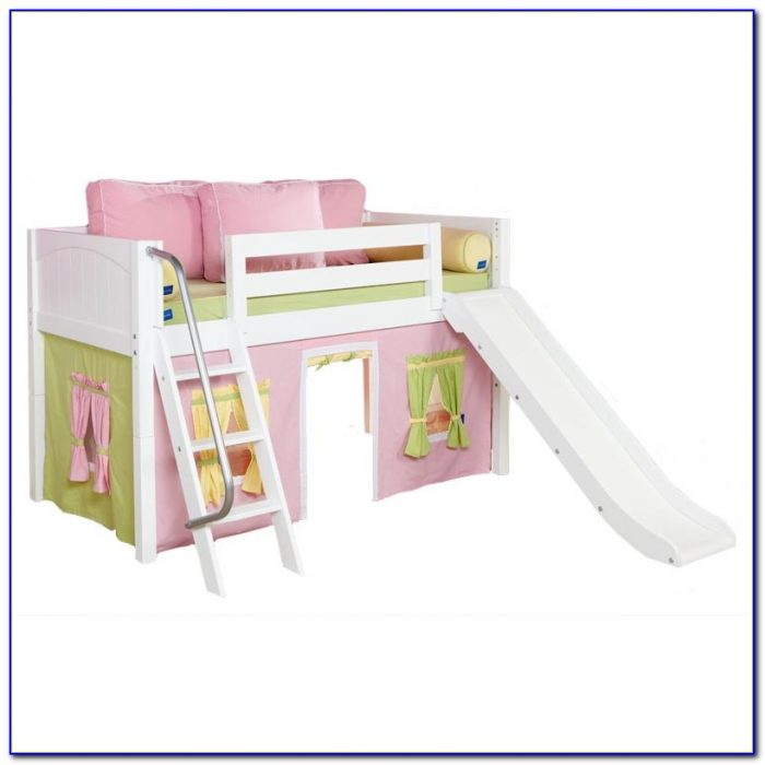 Twin Loft Bed With Slide Plans