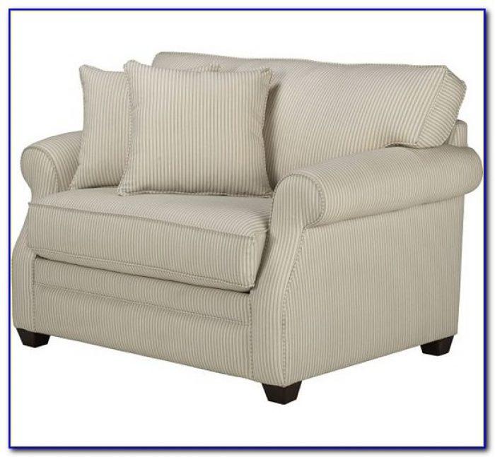 Twin Sleeper Chair With Ottoman