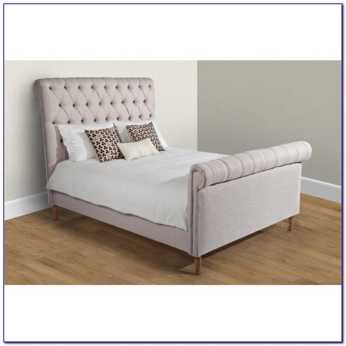 Upholstered Sleigh Bed Diy