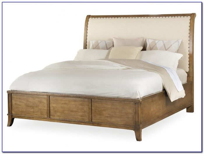 Upholstered Sleigh Bed Full