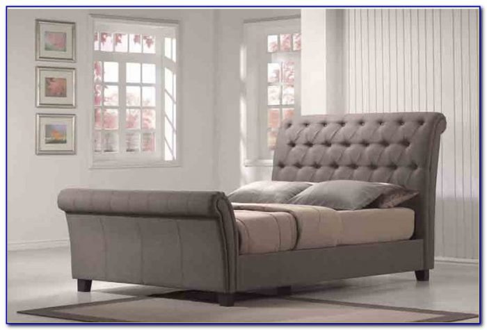 Upholstered Sleigh Bed Headboard