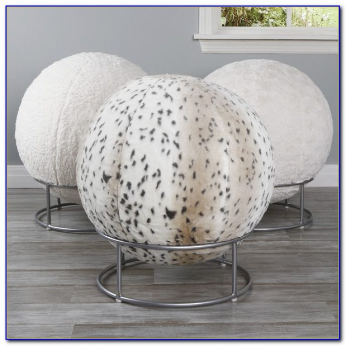 Yoga Ball Chair Size