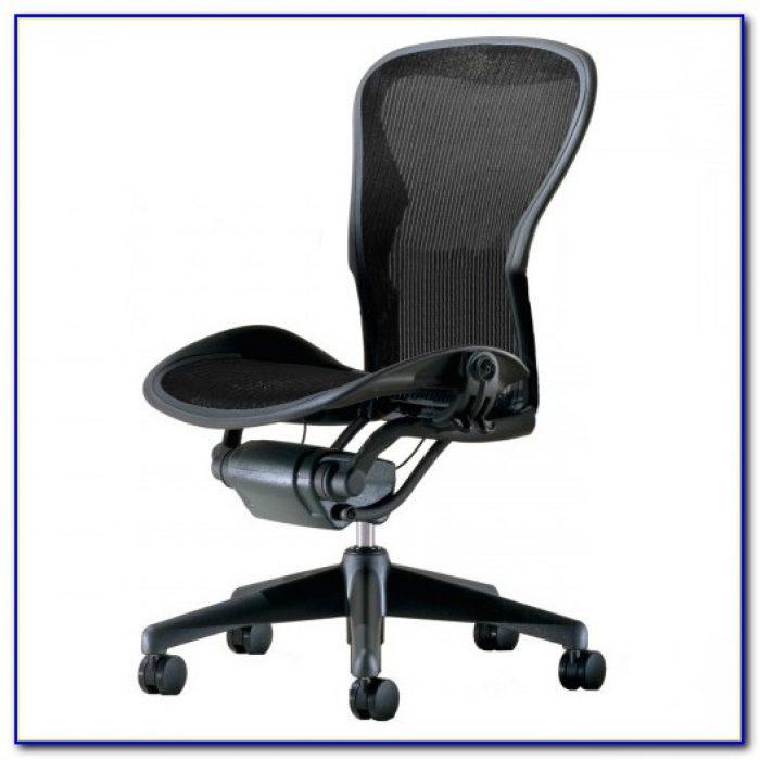 Aeron Chair By Herman Miller Used