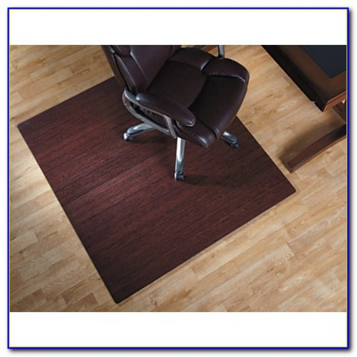 Bamboo Chair Mat For Thick Carpet