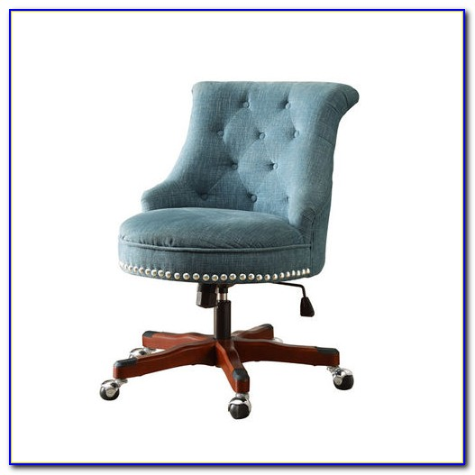 Button Tufted Office Chair