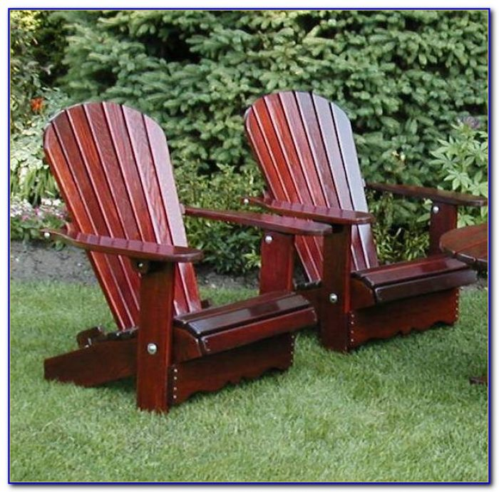 Cedar Adirondack Chairs Kit