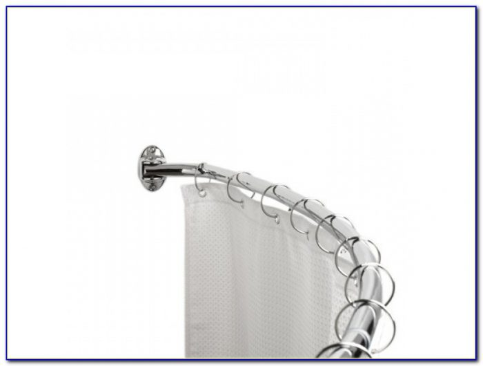 Curved Shower Curtain Rod For Shower Stall