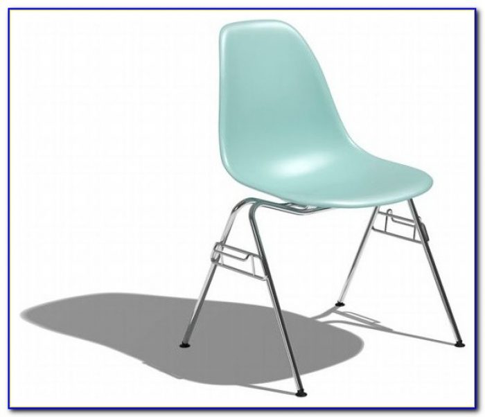 Eames Molded Plastic Chair Cad Block