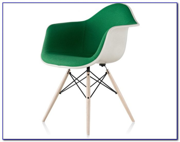 Eames Molded Plastic Chair Dowel Legs