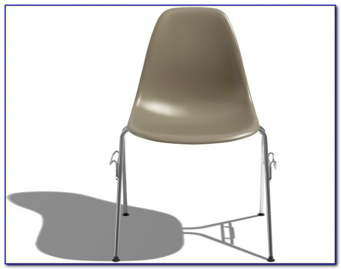 Eames Molded Plastic Chair Knock Off