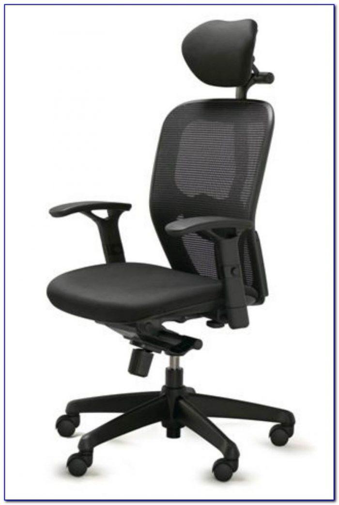 Ergonomic Desk Chair No Wheels