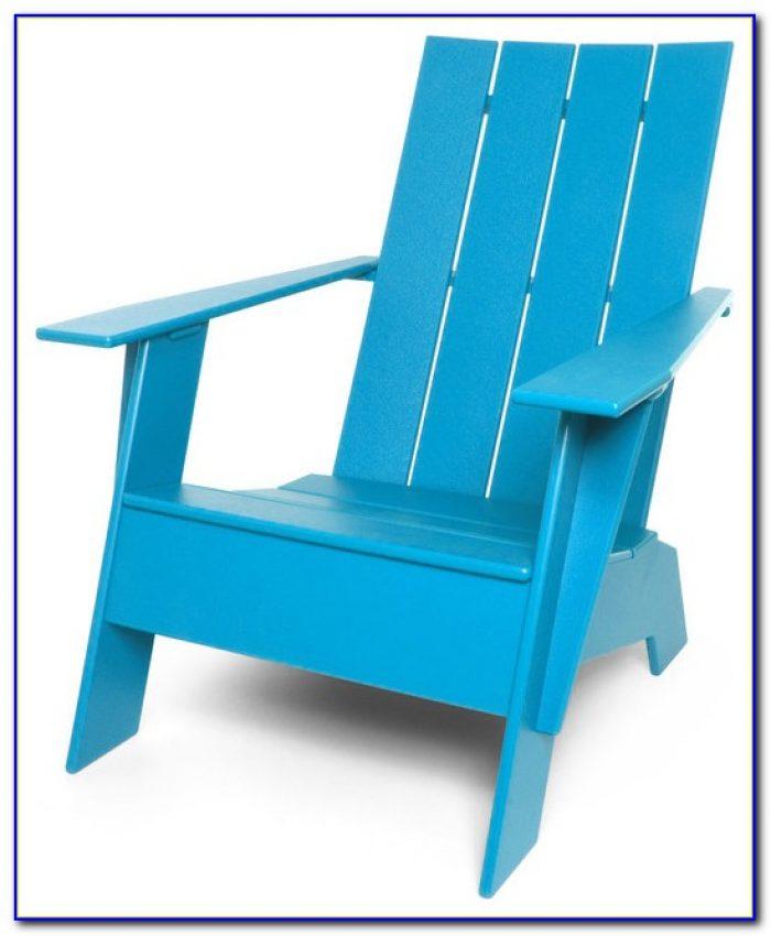 Modern Plastic Adirondack Chairs