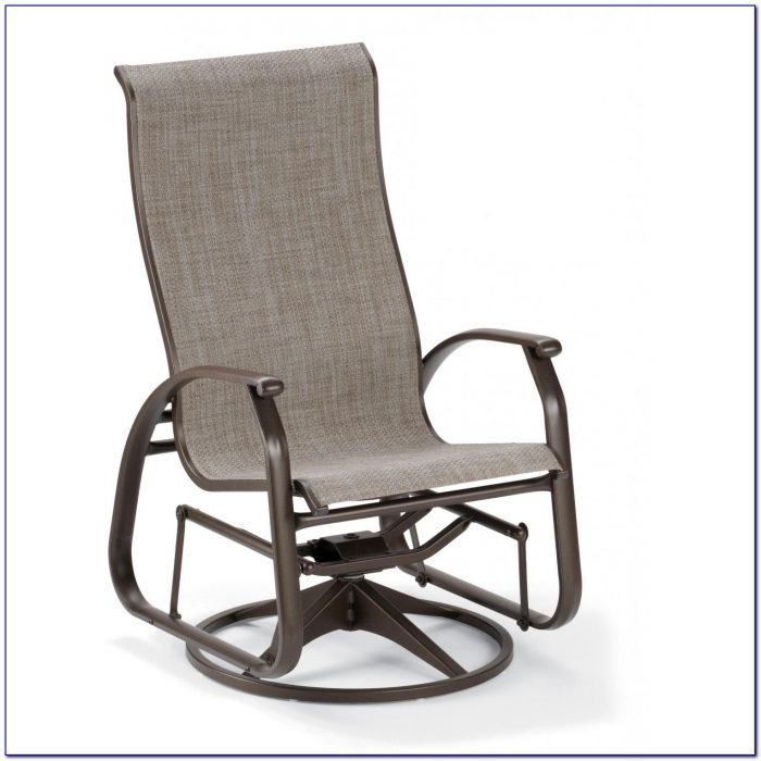 Outdoor Glider Chair With Canopy