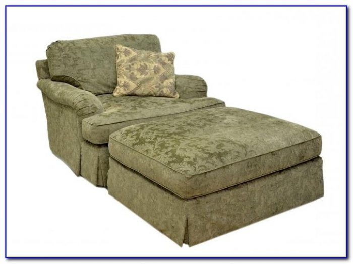 Oversized Chair With Ottoman Covers