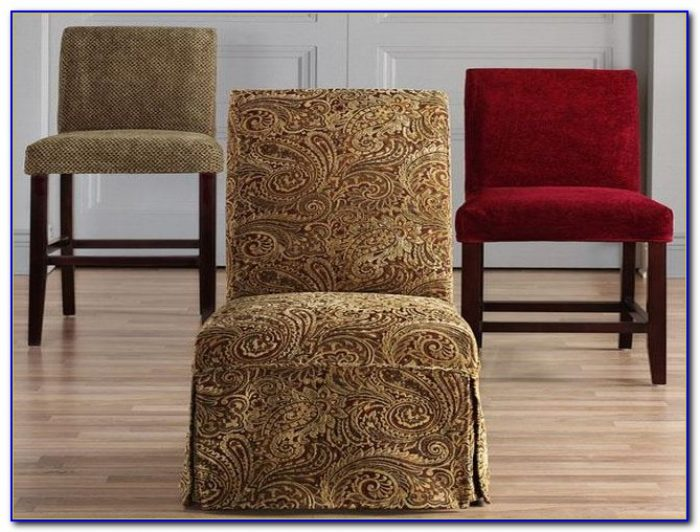 Parson Chair Covers Pattern