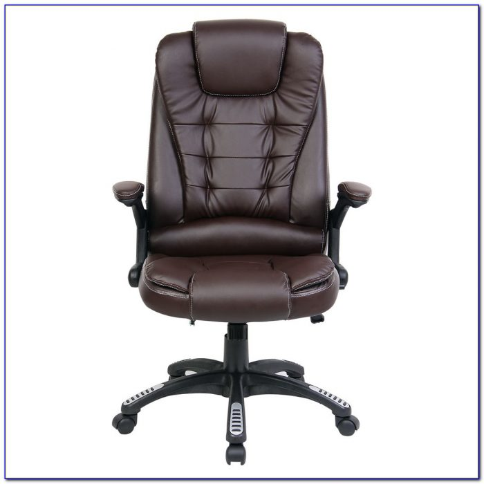 Reclining Desk Chair With Footrest