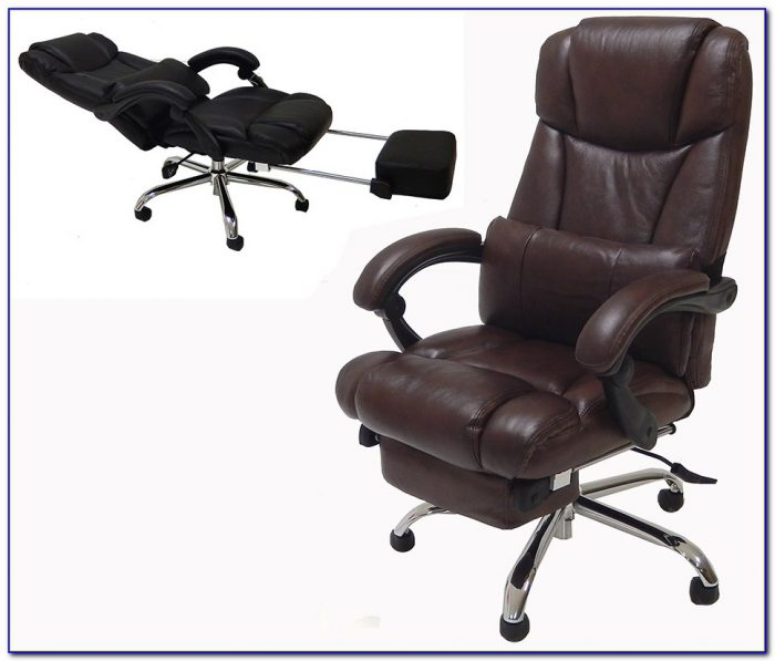Reclining Office Chair And Desk