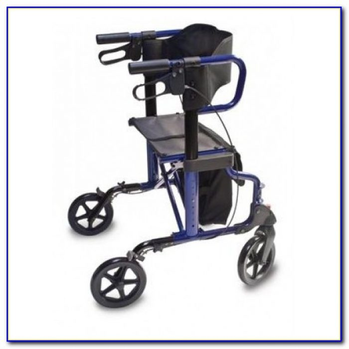 Rollator Transport Chair Combo