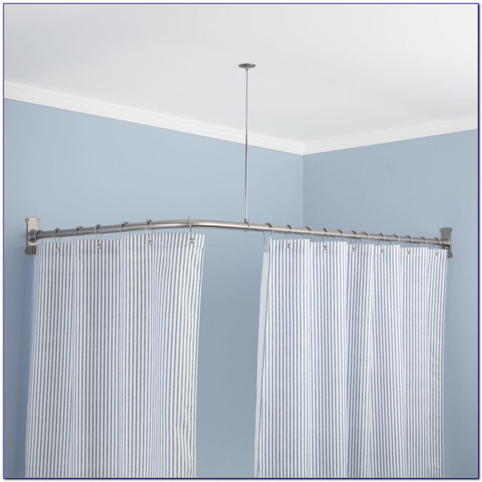 Shower Curtain Rod Height