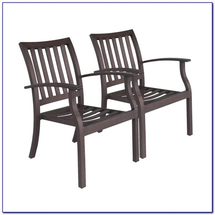 Stackable Patio Chairs Aluminum