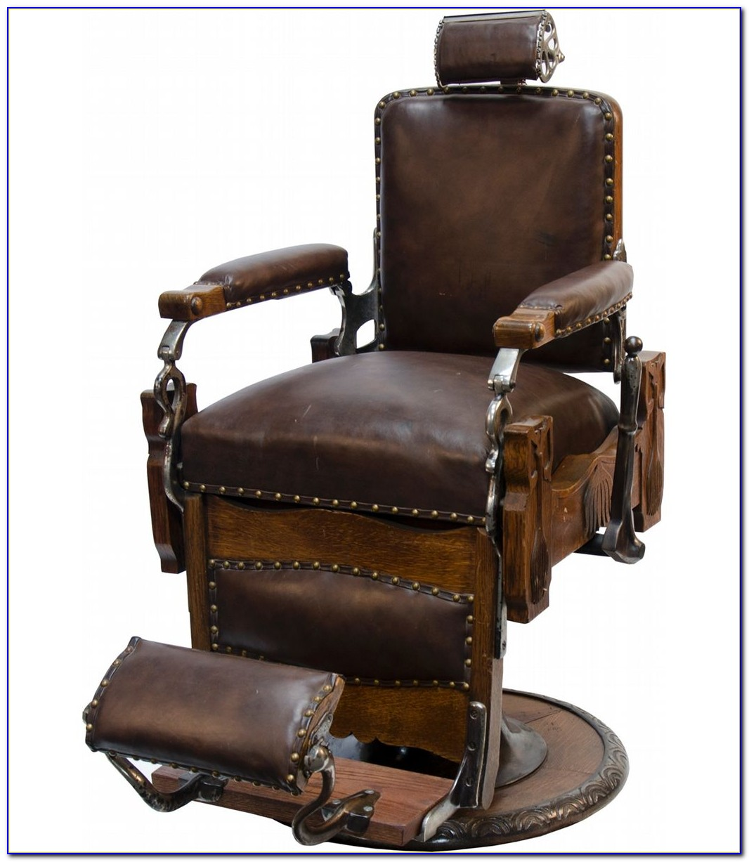 Vintage Barber Chair Parts