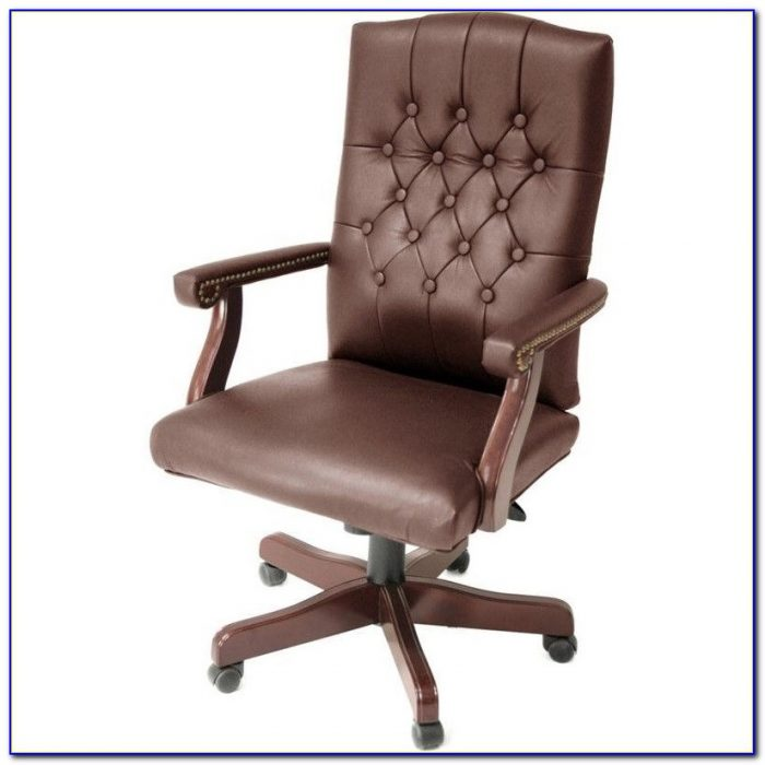White Tufted Office Chair