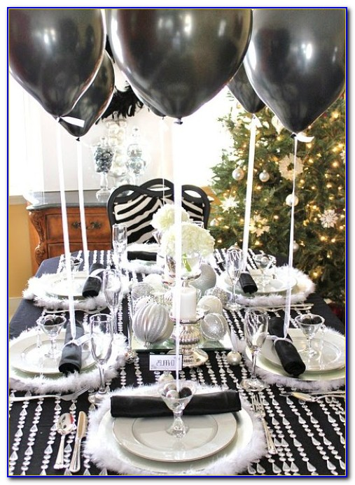 Terrific 50Th Birthday Party Decorations Black And Silver Home Interior And Landscaping Ponolsignezvosmurscom