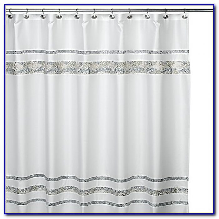 96 Inch Shower Curtain Liner Fabric