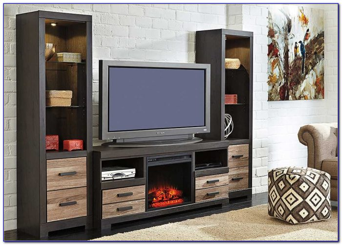 Ashley Furniture Carlyle Entertainment Center