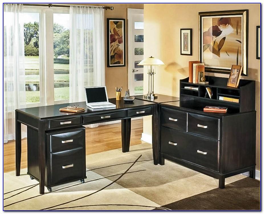 Ashley Furniture Desk Black
