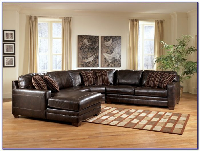 Ashley Furniture Leather Sectional Merrion