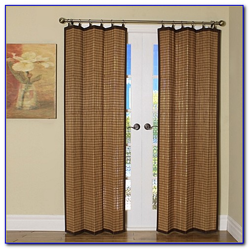 Bamboo Curtain Panels Grommet