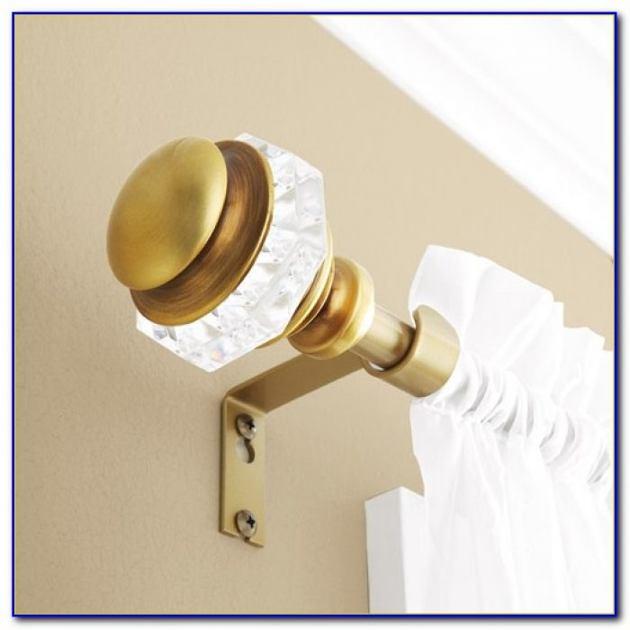 Brass Curtain Rod Brackets
