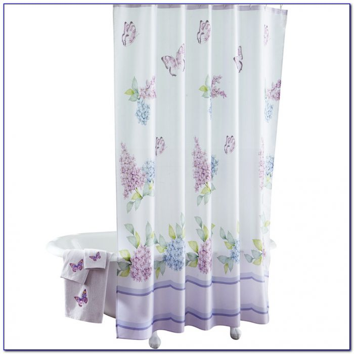 Butterfly Shower Curtain Pottery Barn