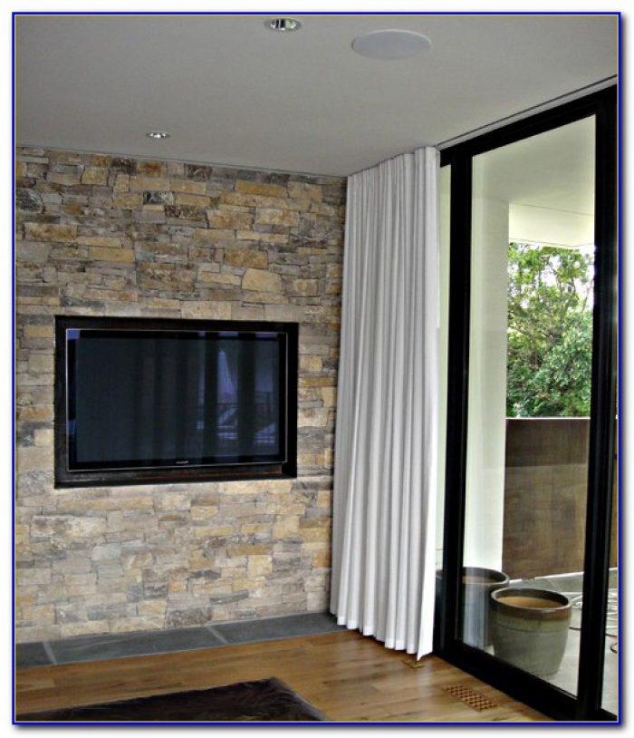 Ceiling Curtain Rod Diy