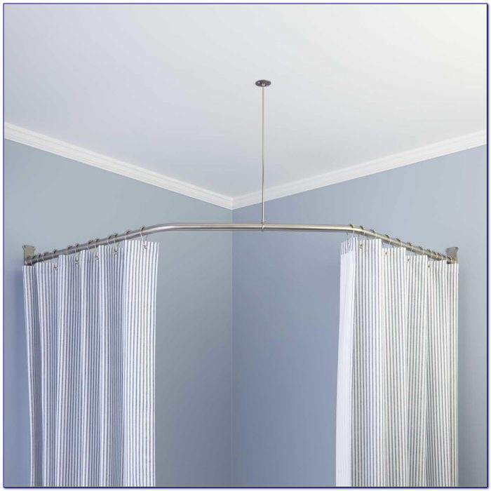 Ceiling Mount Curtain Rod Bracket