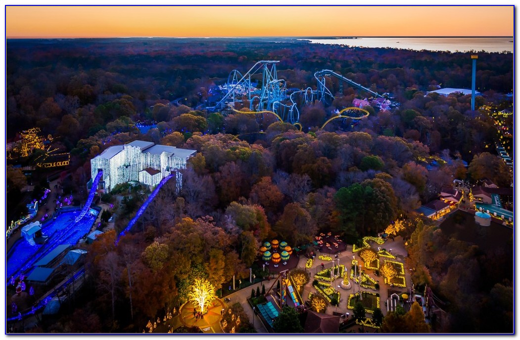 Christmas Town Busch Gardens Williamsburg 12